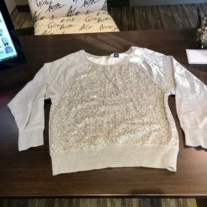 NEW! Women's FRENCH CONNECTION Sequin Knit Top